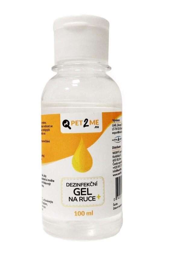 Dezinfekční gel na ruce Pet2Me