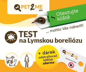Sada 5x test Pet2Me na Lymskú boreliózu